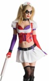 Arkham City Two-Piece Harley Quinn Costume (Small)