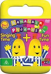 Bananas In Pyjamas: Singing Time And Fun Time on DVD