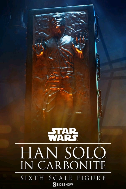 "Star Wars: Han Solo in Carbonite - 12"" Figure"