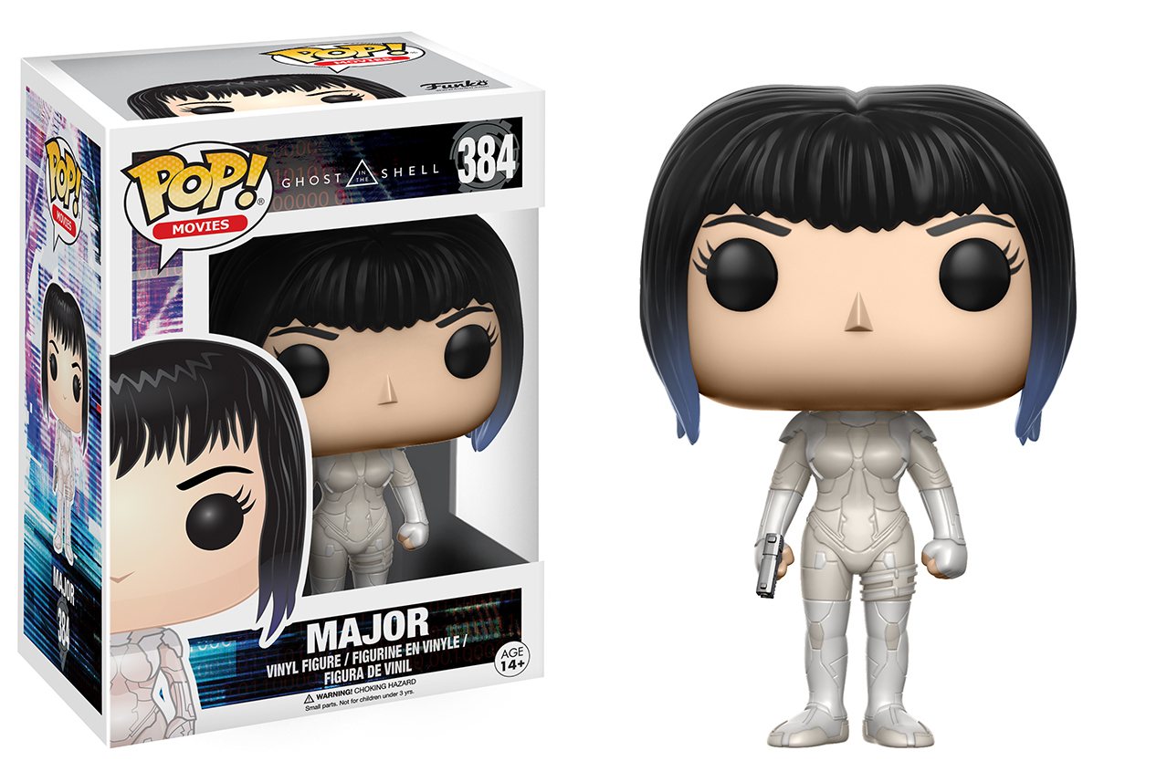 Ghost in the Shell - Major Pop! Vinyl Figure image