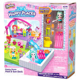 Shopkins Happy Places Extension Set: Pool and Sun Deck