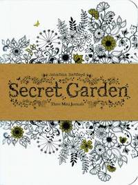 Secret Garden: Three Mini Journals (3 Notebooks) by Johanna Basford