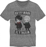 Harry Potter T-Shirt (Gryffindor Vs Slytherin, XL)