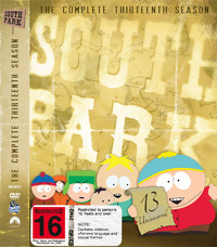 South Park - The Complete 13th Season (3 Disc Set) on DVD
