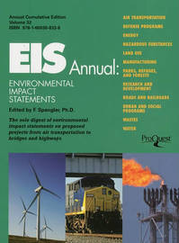 Eis Annual: Environmental Impact Statements by D Whitman image