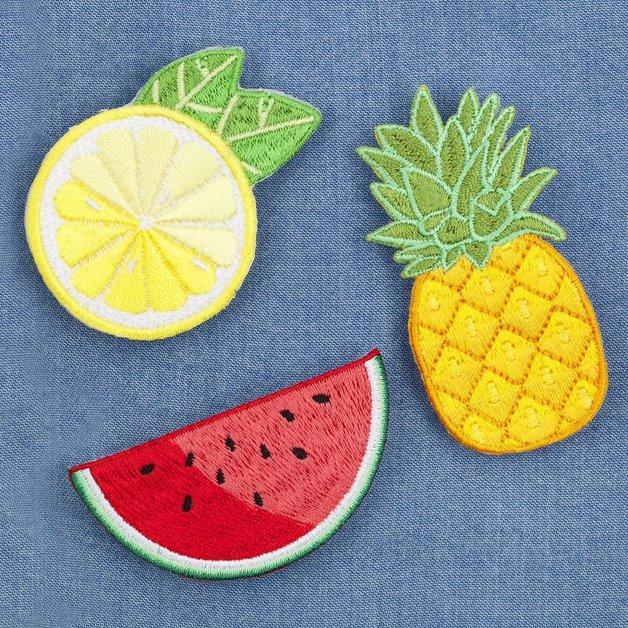 Sunnylife Party Badges - Fruit Salad