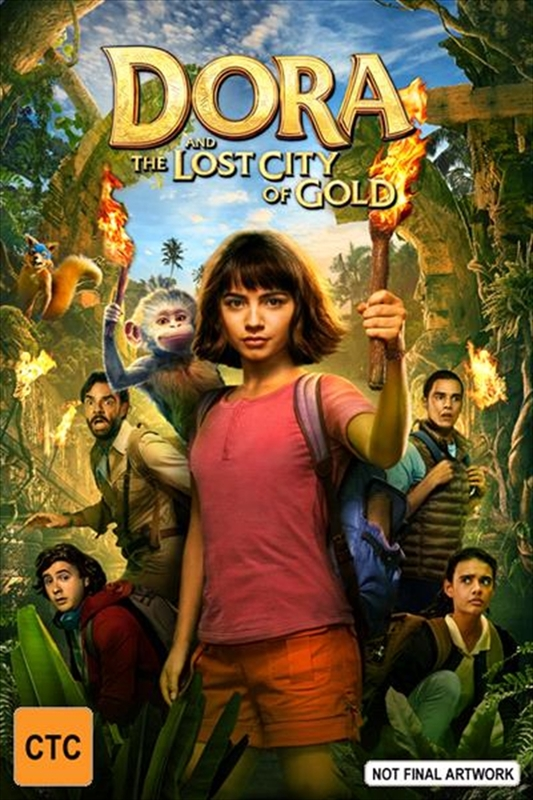 Dora And The Lost City Of Gold on DVD
