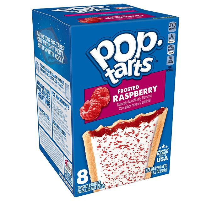 Kellogg's Pop Tarts Frosted Raspberry image
