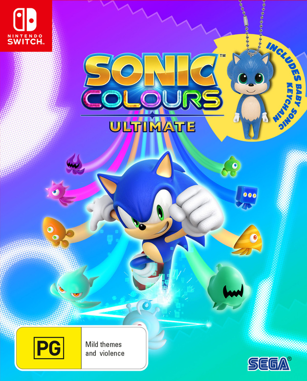 Sonic Colours Ultimate Limited Edition for Switch