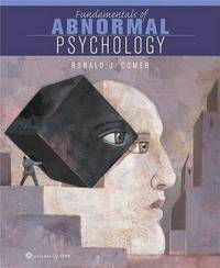 Fundamentals of Abnormal Psychology by R. Comer image