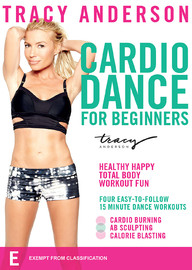 Tracy Anderson Dance Cardio for Beginners on DVD