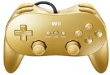 Wii Classic Pro Controller - Gold (brand new, bagged) for Nintendo Wii U