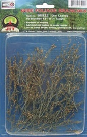 """Dry Leaves Branches 1.5-3"""" (60 per pack)"""