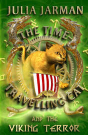 The Time-Travelling Cat and the Viking Terror by Julia Jarman image