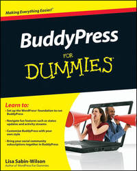 Buddypress for Dummies by Lisa Sabin-Wilson image