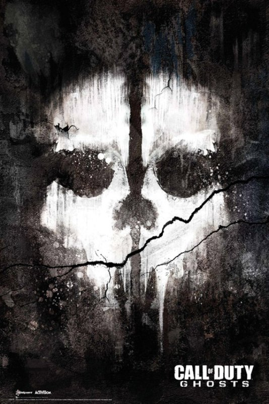 Call of Duty - Ghosts Skull Poster (74)