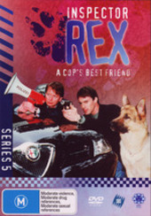Inspector Rex - Series 5 (4 Disc Box Set) on DVD