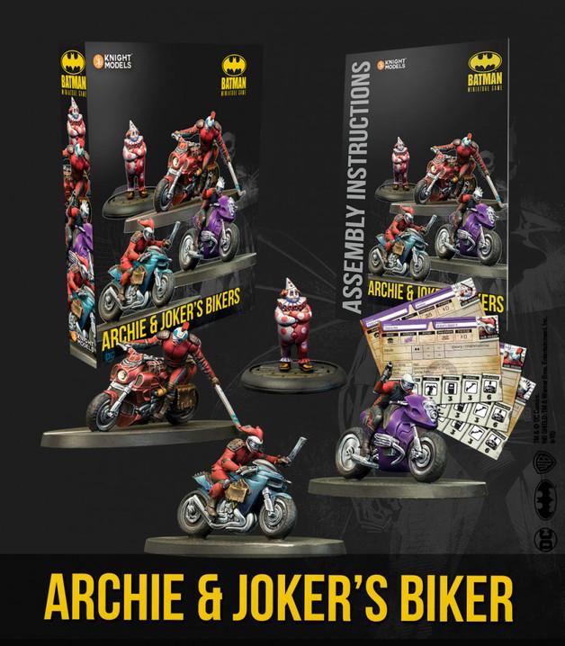 Batman: Miniatures Game - Archie & Joker's Bikers Character Pack