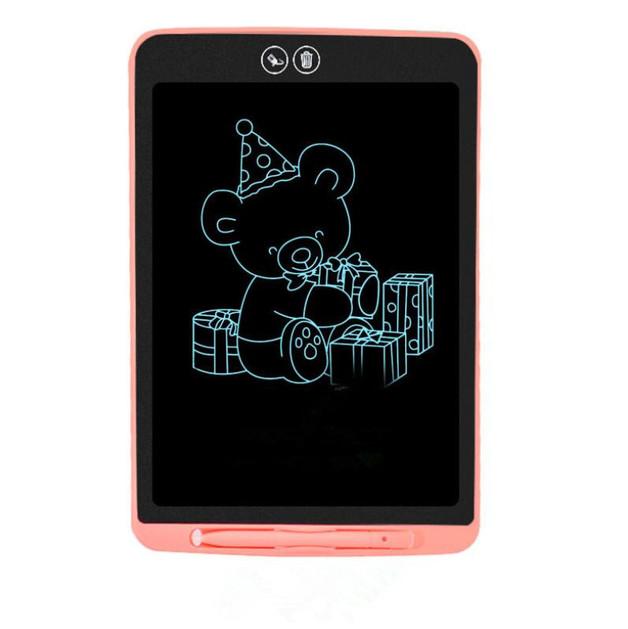 "Kids' 8.5"" Drawing Tablet with Eraser - Pink"