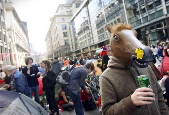 Horse Head Mask image