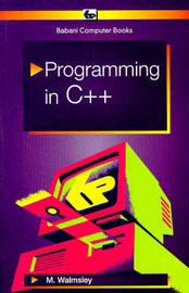 Programming in C++ by Mark Walmsley image