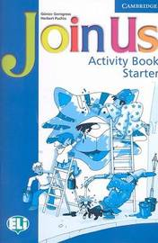 Join Us Starter Activity Book by Gunter Gerngross image
