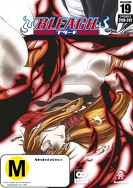 Bleach Collection 19 (Eps 256-267) on DVD