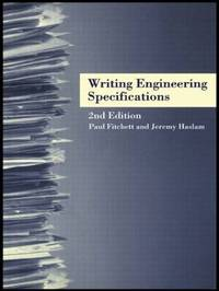 Writing Engineering Specifications by Paul Fitchett image