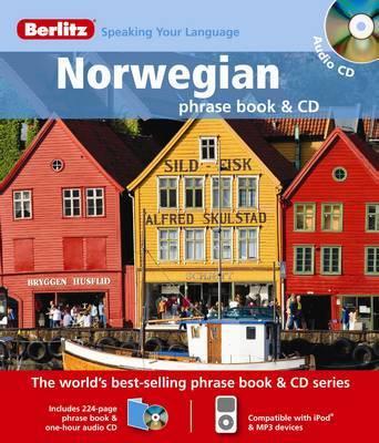 Norwegian Berlitz Phrase Book and CD image