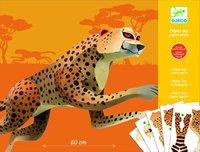Djeco: Paper Toys - Jaguar