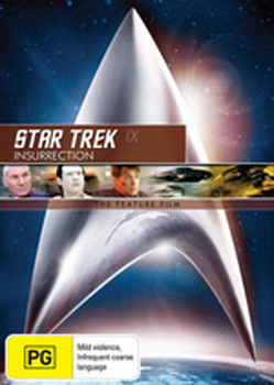 Star Trek IX: Insurrection - The Feature Film on DVD image