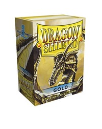 Dragon Shield Card Sleeves Gold