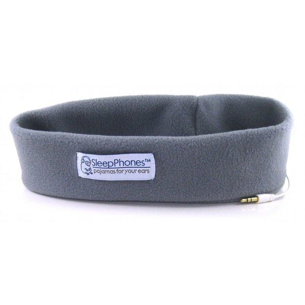 SleepPhones: Classic Grey Fleece - Large