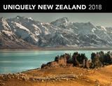 Uniquely New Zealand 2018 Horizontal Wall Calendar
