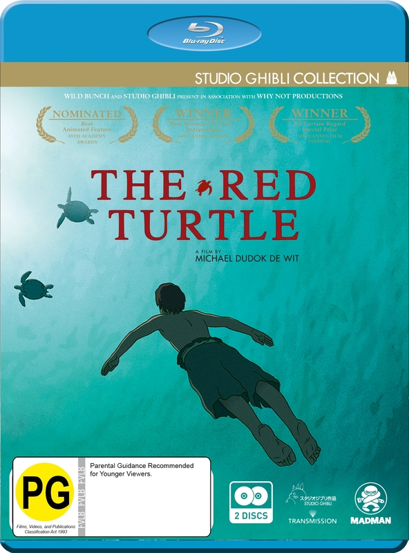 The Red Turtle - (Limited Edition) on Blu-ray