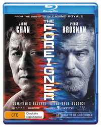 The Foreigner on Blu-ray