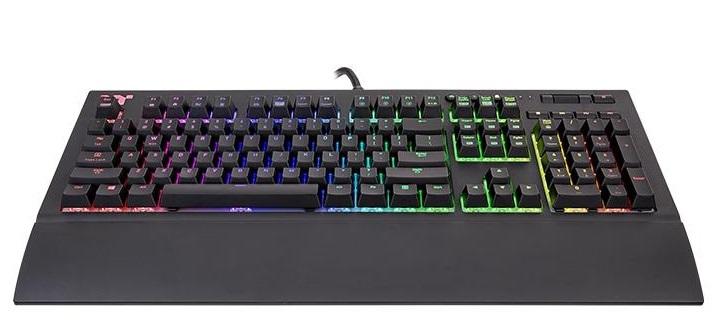 Thermaltake TT Premium X1 Cherry MX Silver Keyboard for PC image
