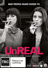 UnREAL: The Complete Third Season on DVD