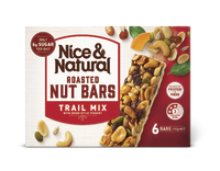 Nice & Natural: Roasted Nut Bars - Trail Mix (192g)