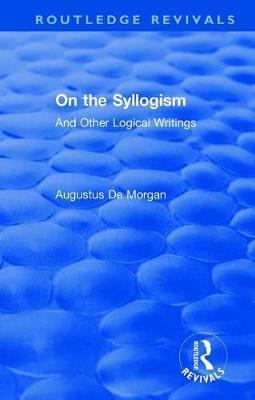 On the Syllogism