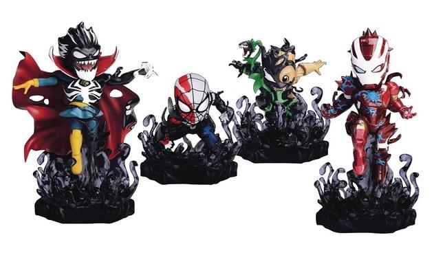 """Maximum Venom: Venomized Heroes- 5"""" Mini-Figure 4-Pack"""