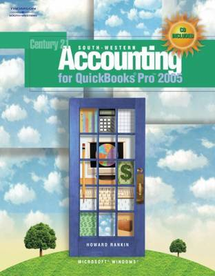 South-Western Accounting for Quickbooks Pro 2005: 2005 by RANKIN image