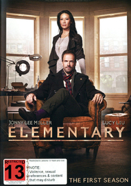Elementary - The Complete First Season on DVD image