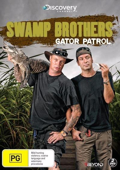 Swamp Brothers: Gator Patrol on DVD image