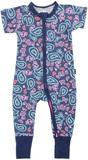 Bonds Zip Wondersuit Short Sleeves - Weekender (New Born)
