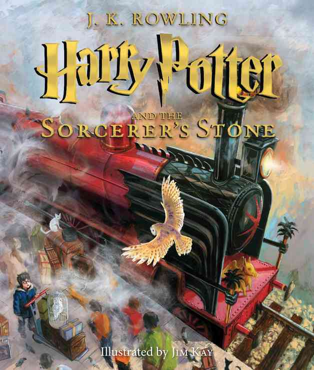 Harry Potter and the Sorcerer's Stone: Illustrated Edition by J.K. Rowling