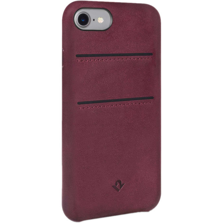 Twelve South Relaxed Leather case w/pockets for iPhone 7/6/6S (Marsala) image