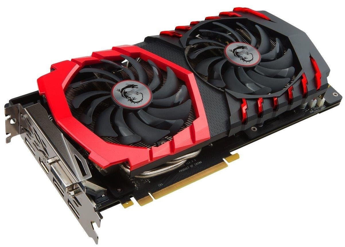 MSI GeForce GTX 1060 Gaming X 3GB Graphics Card image