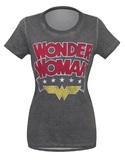 DC Comics: Wonder Woman Logo - Hi-Lo T-Shirt (Small)