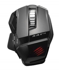 Mad Catz RAT M Wireless Gaming Mouse (Glossy Black) for